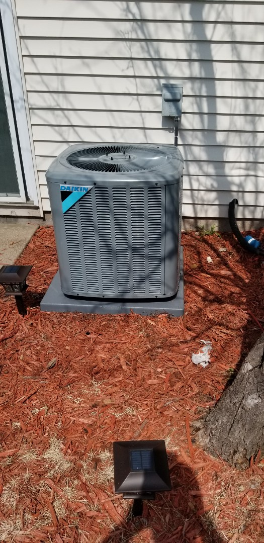 Osseo, MN - New a/c install