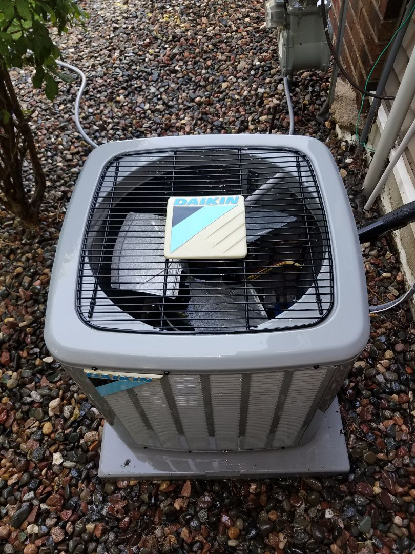 Plymouth, MN - Air conditioning tune up and cleaning on daikin air conditioner