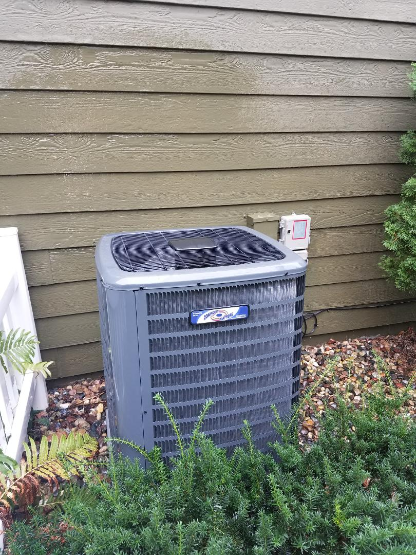 Eden Prairie, MN - Air conditioning tune up and cleaning on comfort matters air conditioner
