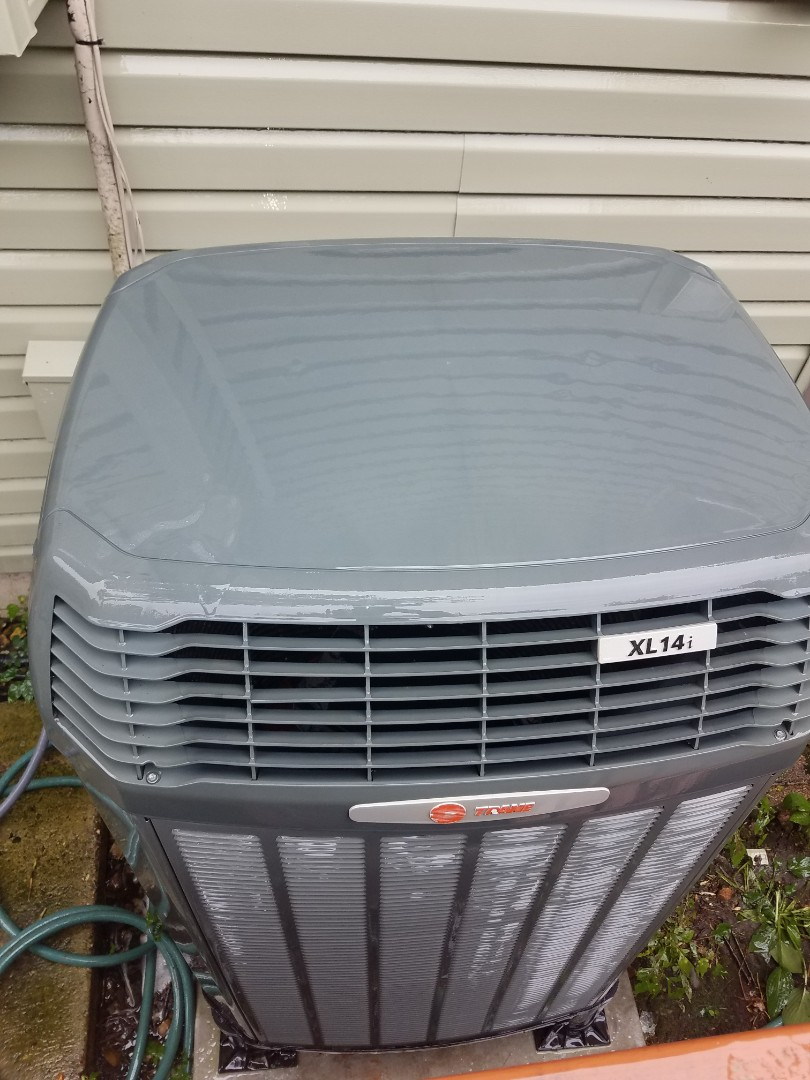 Eden Prairie, MN - Air conditioning tune up and cleaning on trane air conditioner