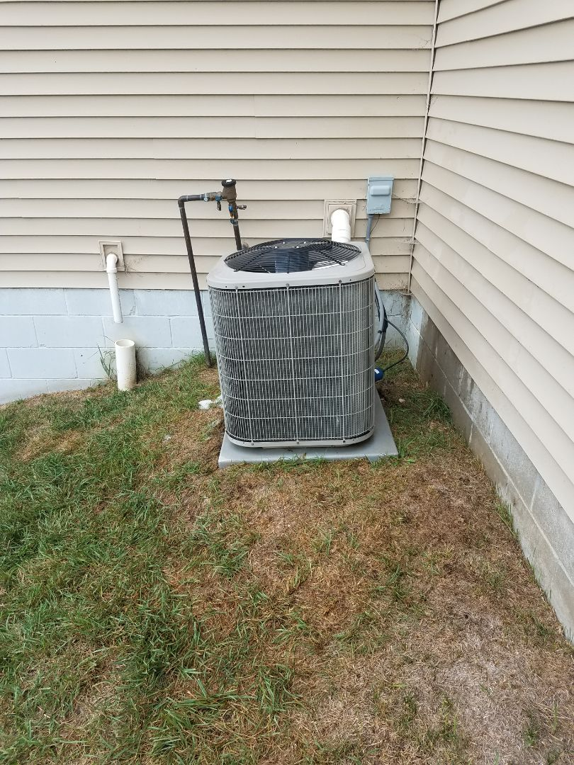 Rogers, MN - AC tune up and clean on Bryant unit in Rogers