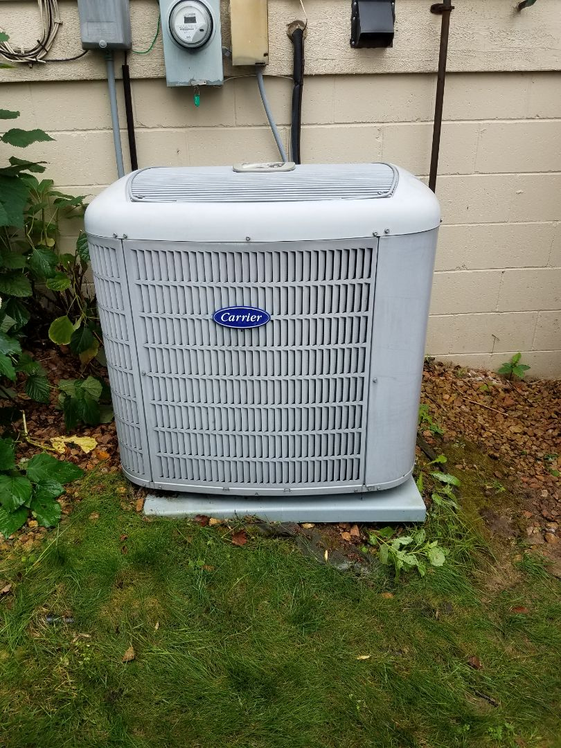 Osseo, MN - Ac not cooling. Found failed motor booster, replaced with new one and returned cooling in maple grove
