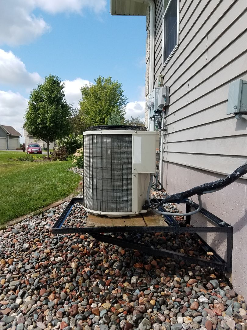 Albertville, MN - AC tune up and cleaning on payne unit in Albertville