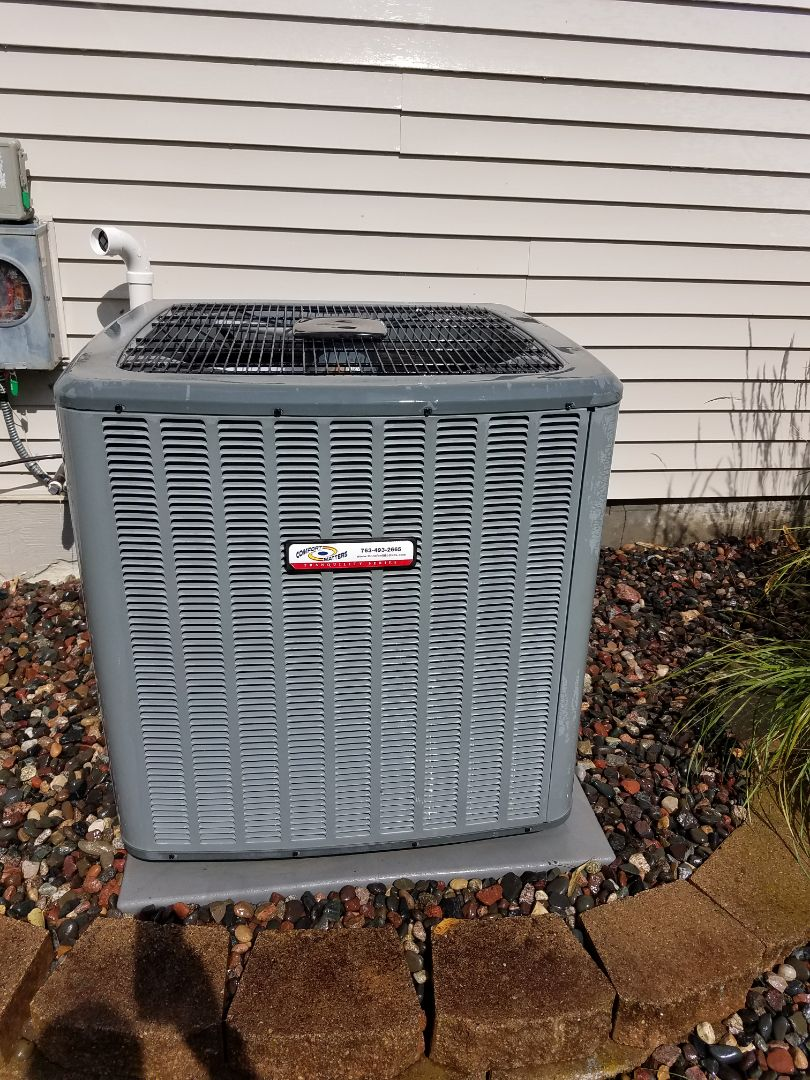 Maple Grove, MN - Air conditioning tune up and cleaning on amana air conditioner