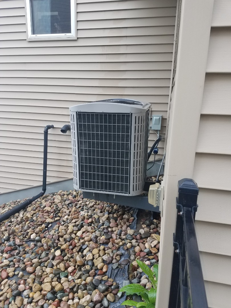 Maple Grove, MN - A/C tune up and clean on carrier unit in Maple Grove