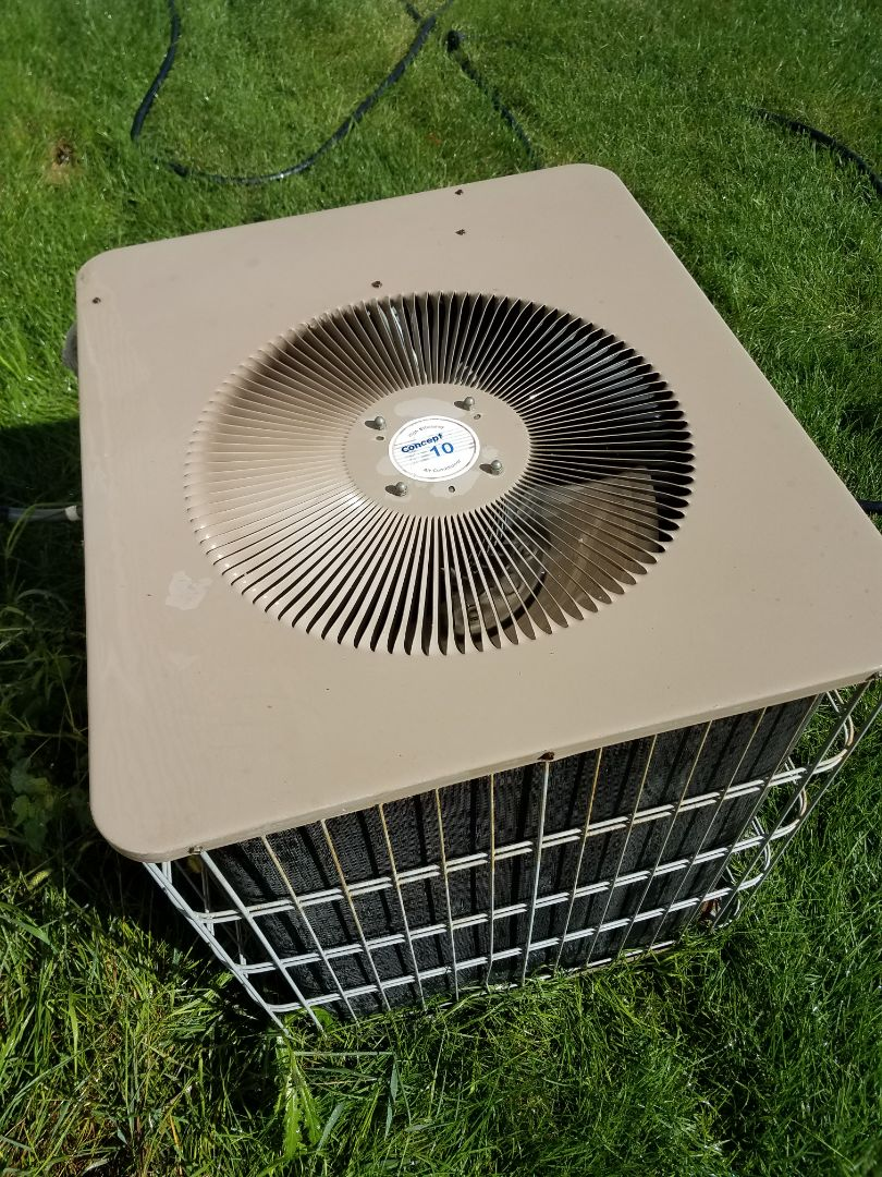 Albertville, MN - Air conditioning tune up and cleaning on Lennox air conditioner