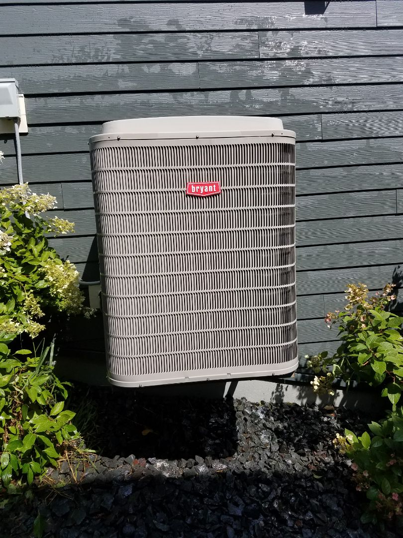 Albertville, MN - Air conditioning tune up and cleaning on Bryant air conditioner