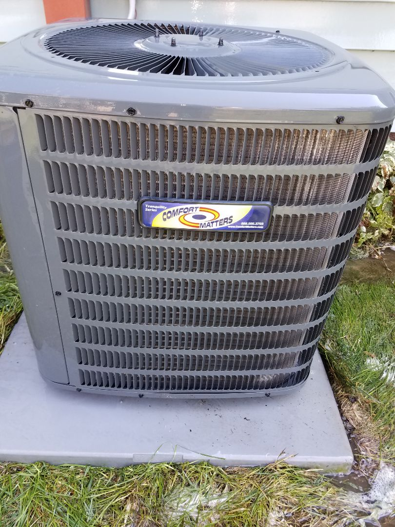 Plymouth, MN - Air conditioning tune up and cleaning on comfort matters air conditioner