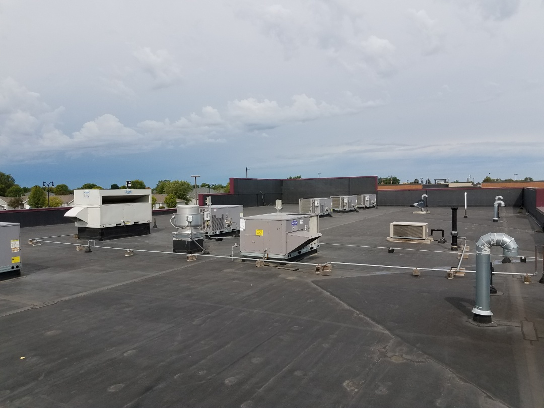 Albertville, MN - Commercial roof top maintenance on 9 units in Albertville. Replaced filters and belts, tested operation