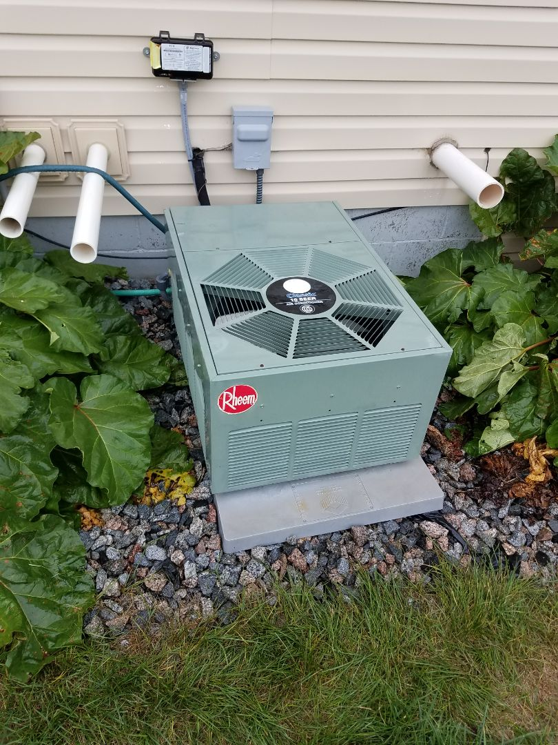 Saint Michael, MN - Air conditioning tune up and cleaning on rheem air conditioner