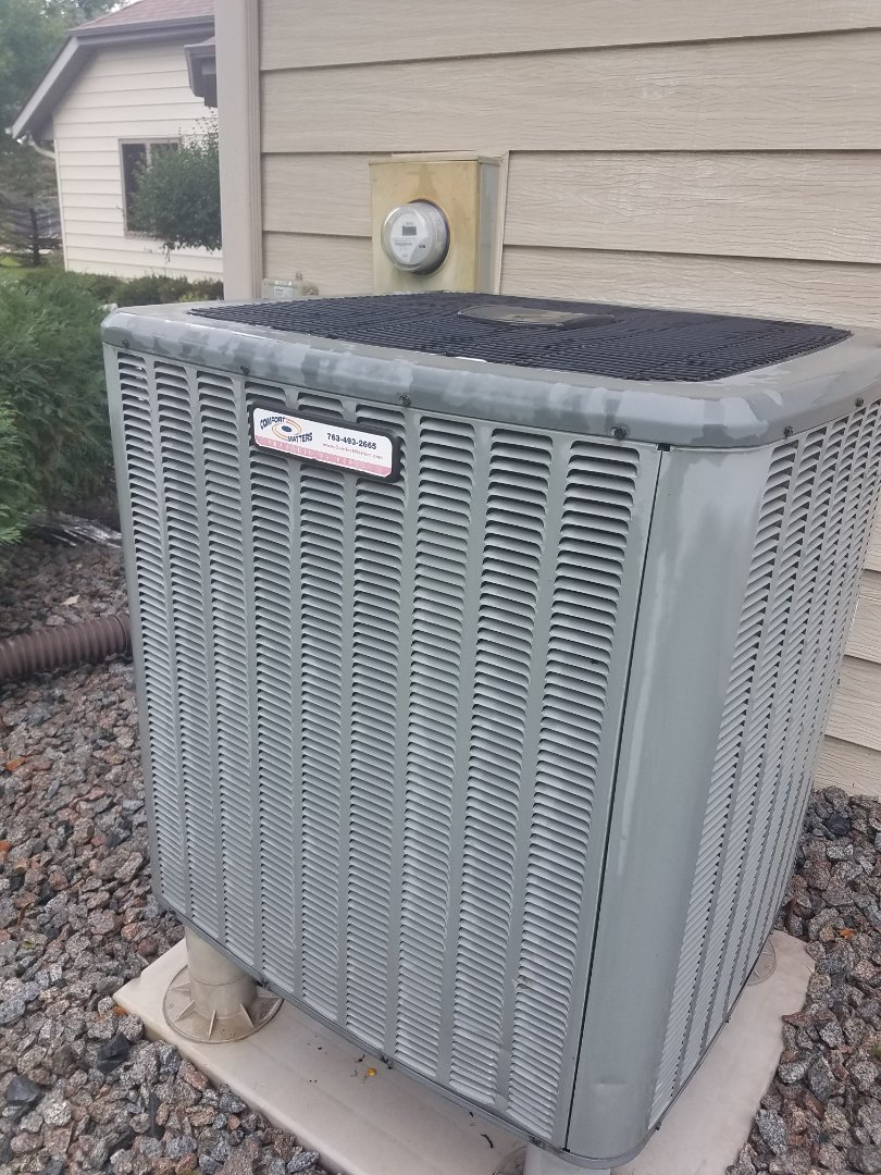 Corcoran, MN - Air conditioning tune up and cleaning on amana air conditioner