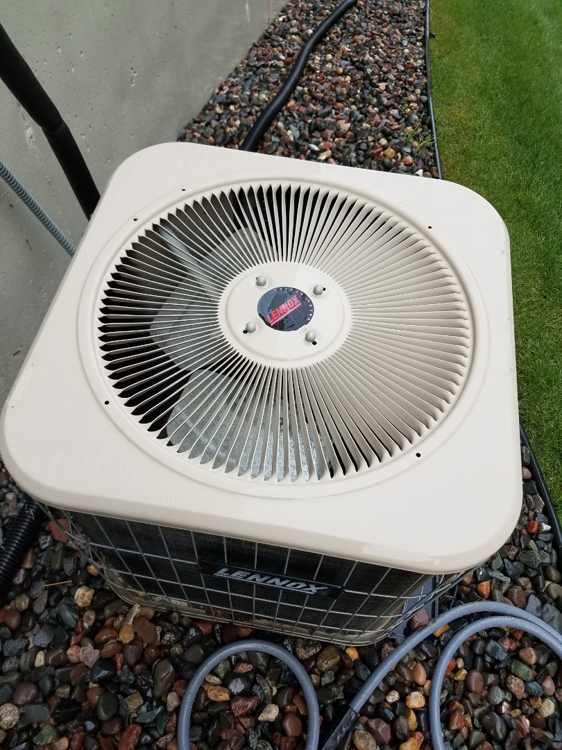 Minneapolis, MN - Air conditioning tune up and cleaning on Lennox air conditioner