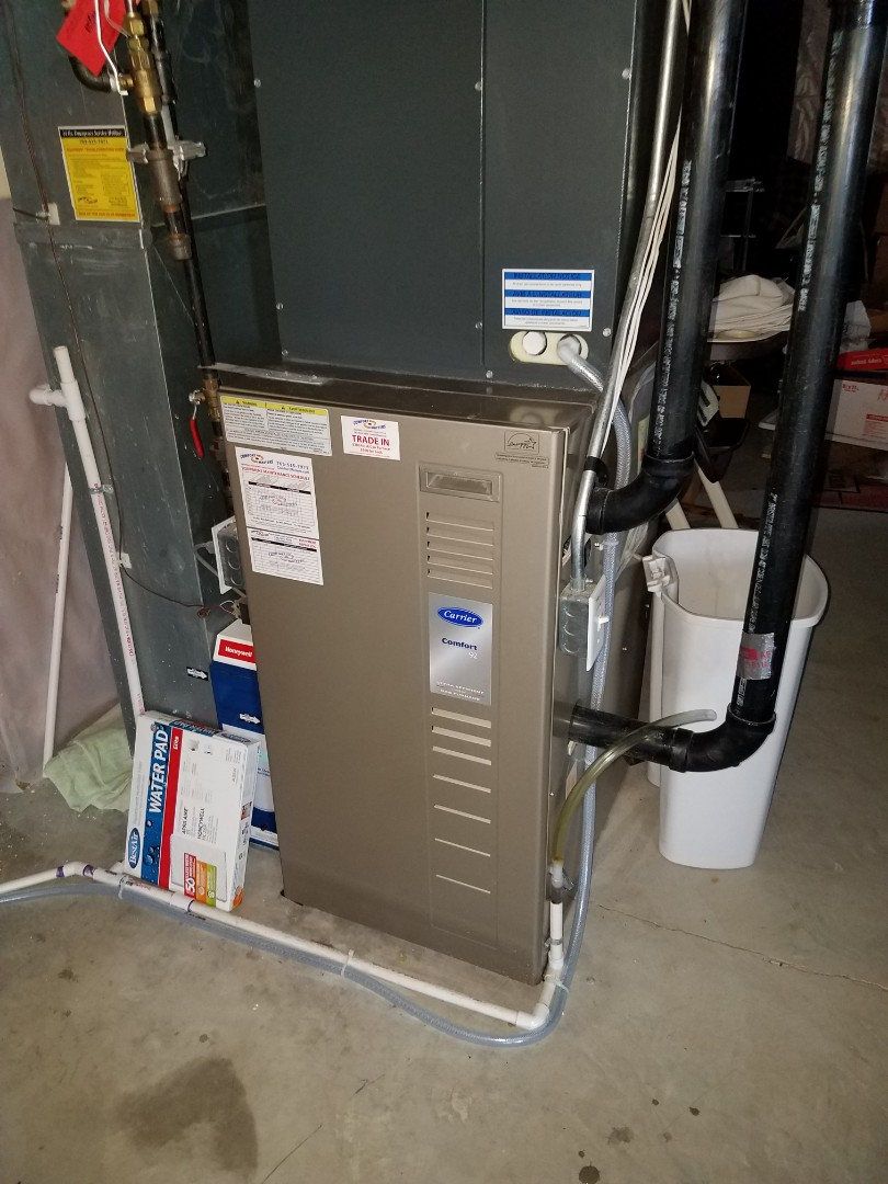 Minneapolis, MN - Furnace tune up and clean on carrier unit in Plymouth