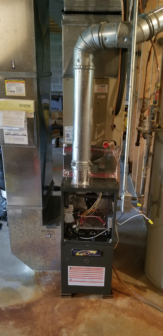 Saint Michael, MN - Install new furnace