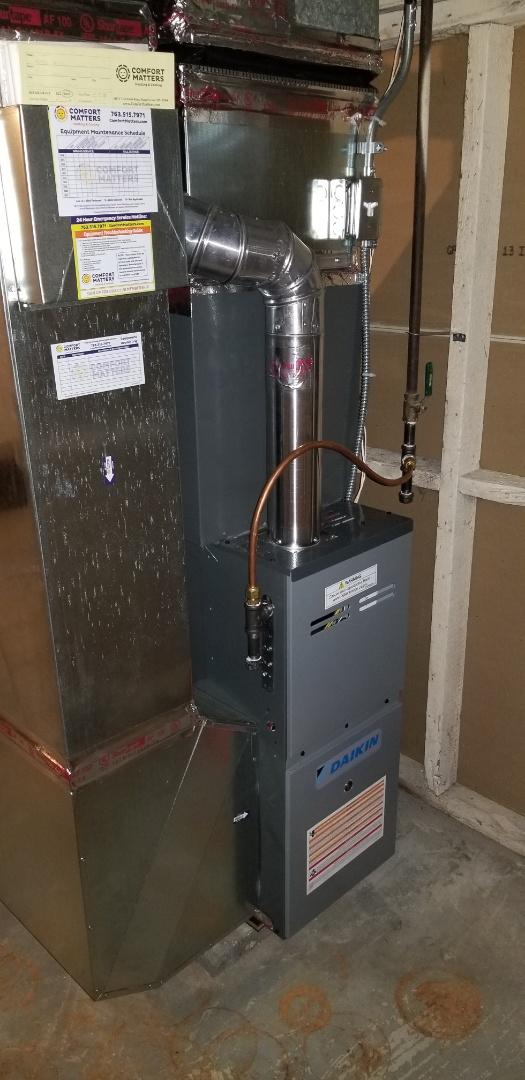 Minneapolis, MN - New system install