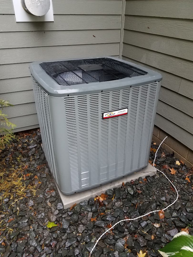 Minneapolis, MN - Air conditioning tune up and cleaning on Goodman air conditioner