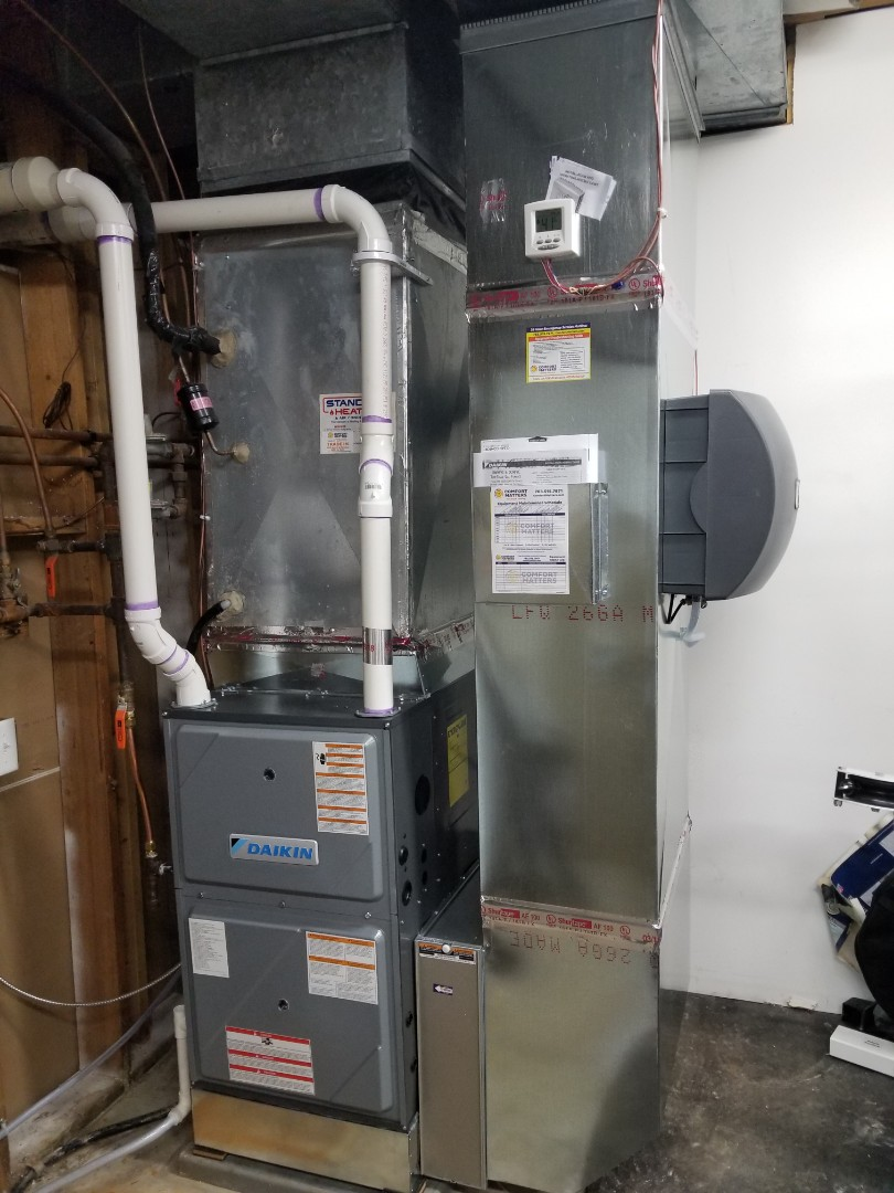 Plymouth, MN - New furnace installation