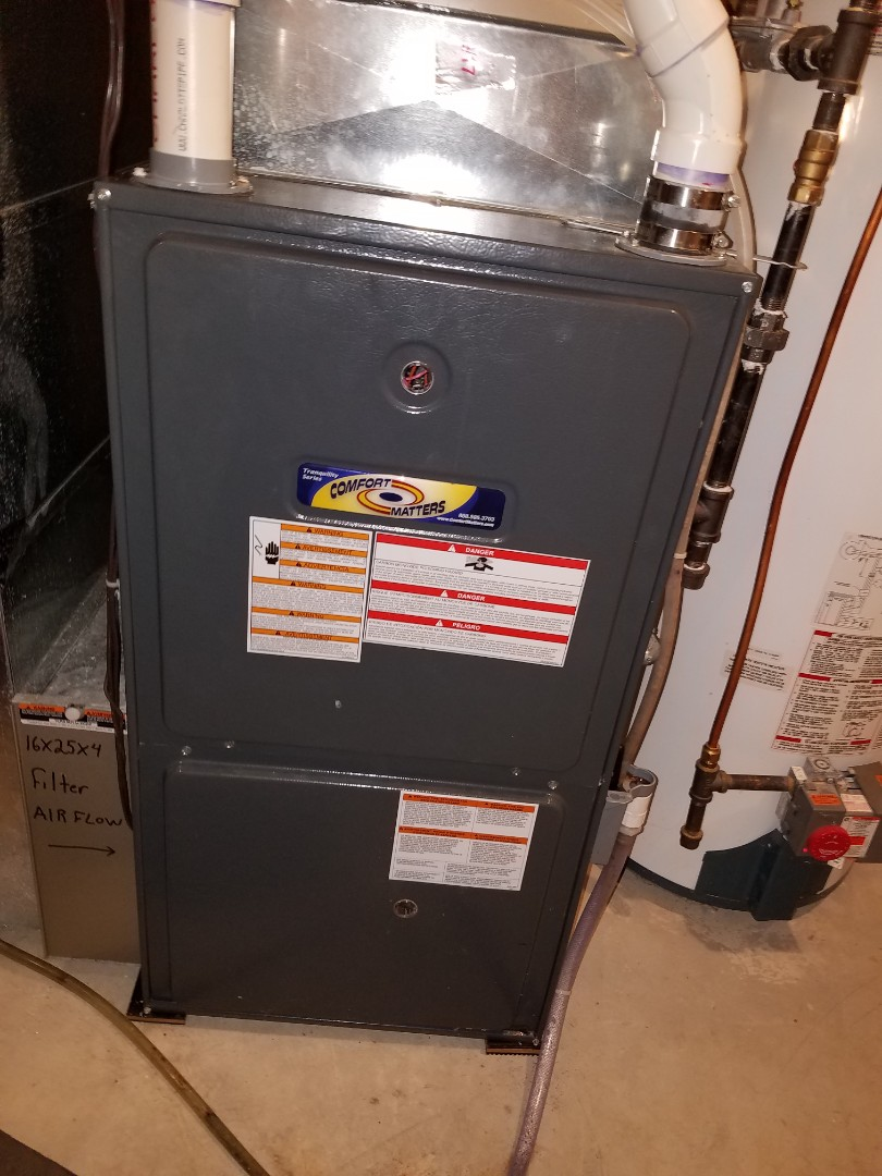 Hanover, MN - Furnace heating tune up and cleaning on daikin furnace
