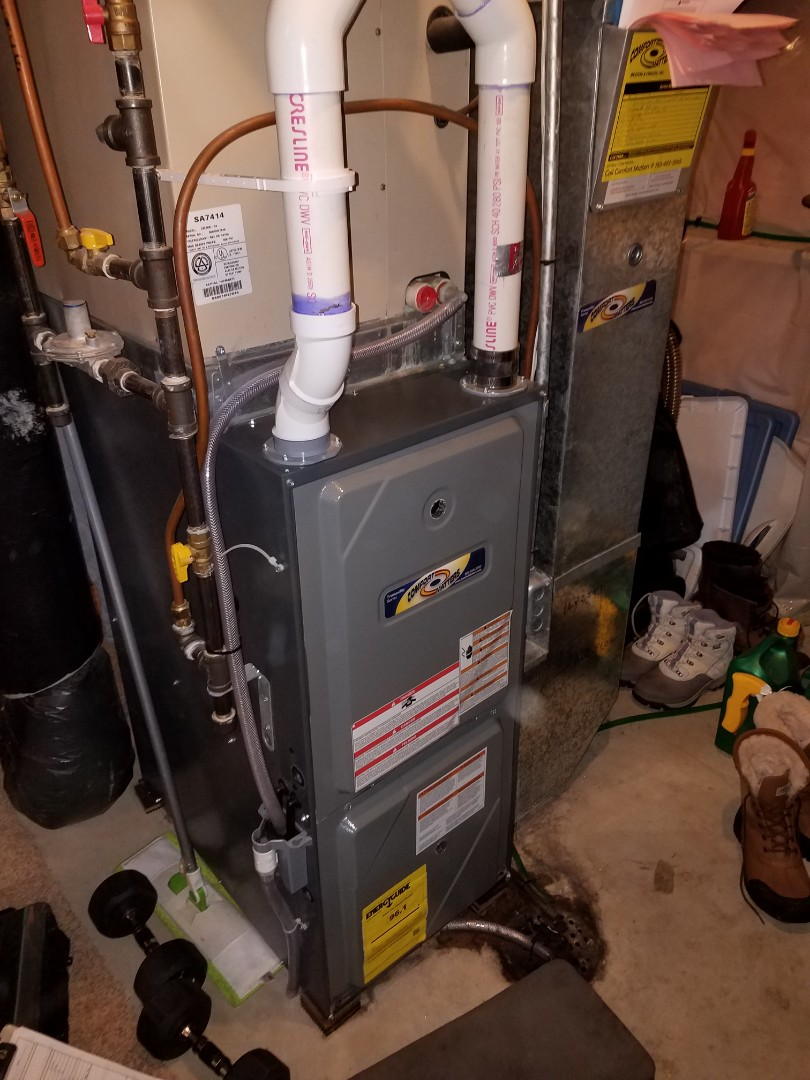 Saint Michael, MN - Furnace tune up and cleaning on amana furnace