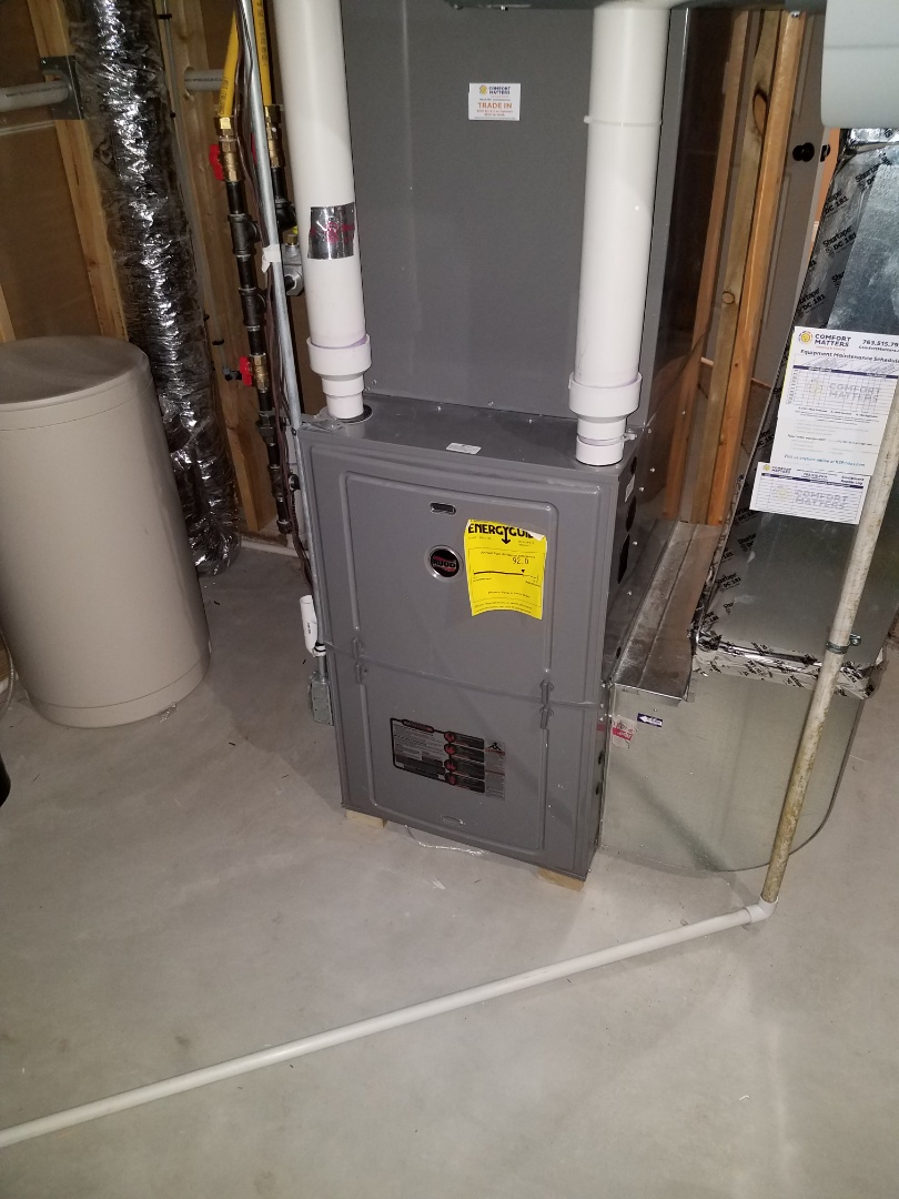 Plymouth, MN - Furnace tune up and clean on Ruud unit in Plymouth