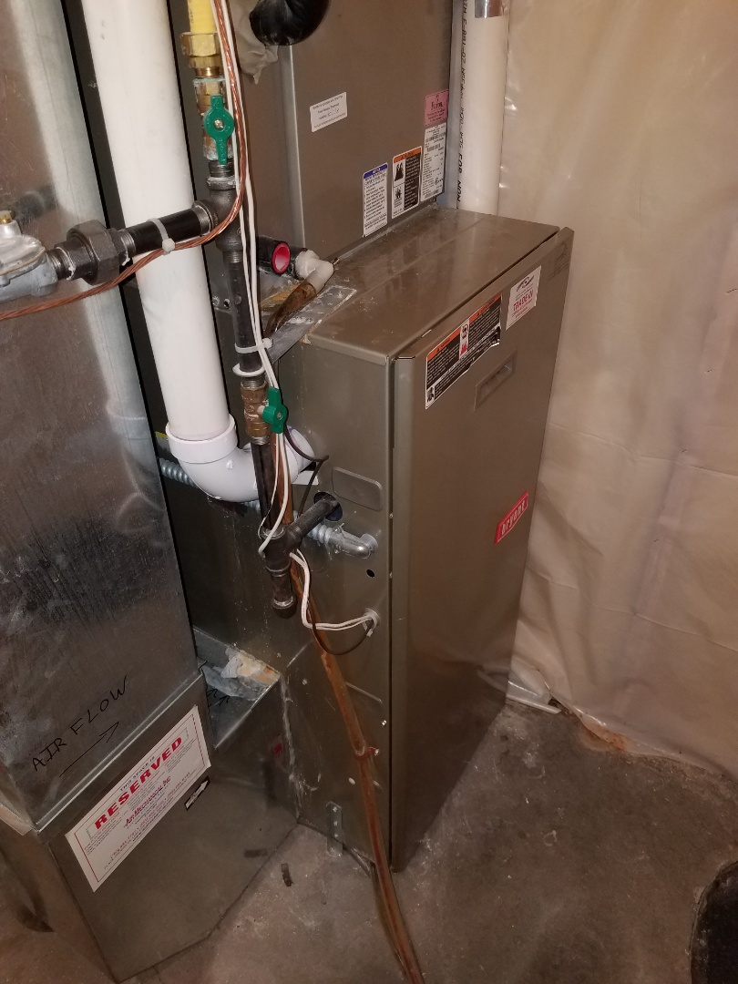 Saint Michael, MN - Replaced inducer motor assembly on Bryant furnace in Otsego