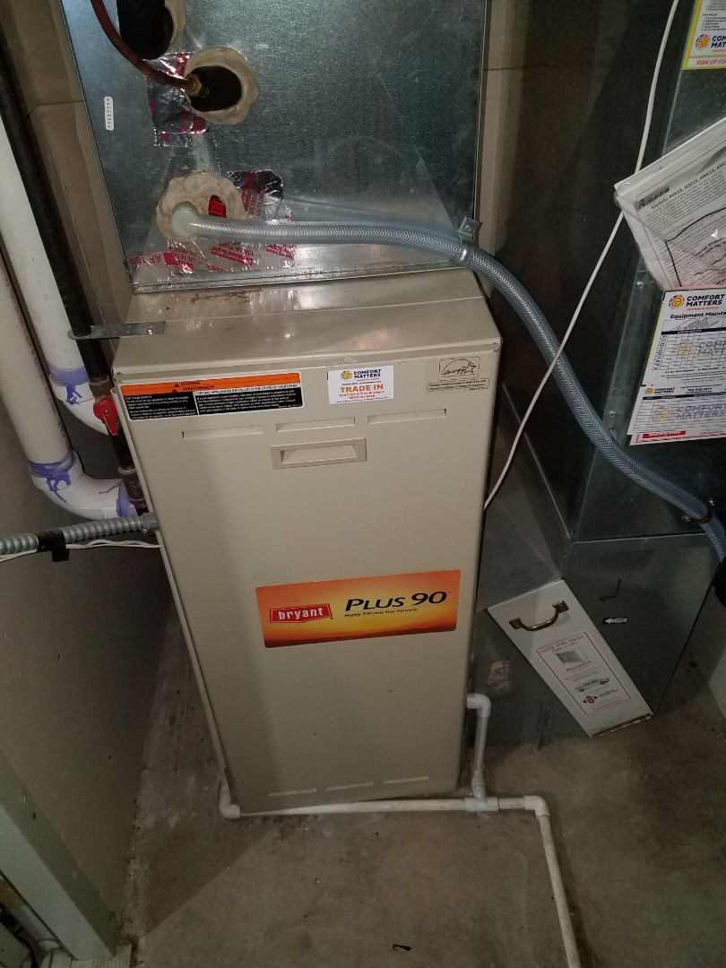 Saint Michael, MN - No heat on Bryant unit in Otsego. Found failed pressure switch, replaced, and returned heating operation