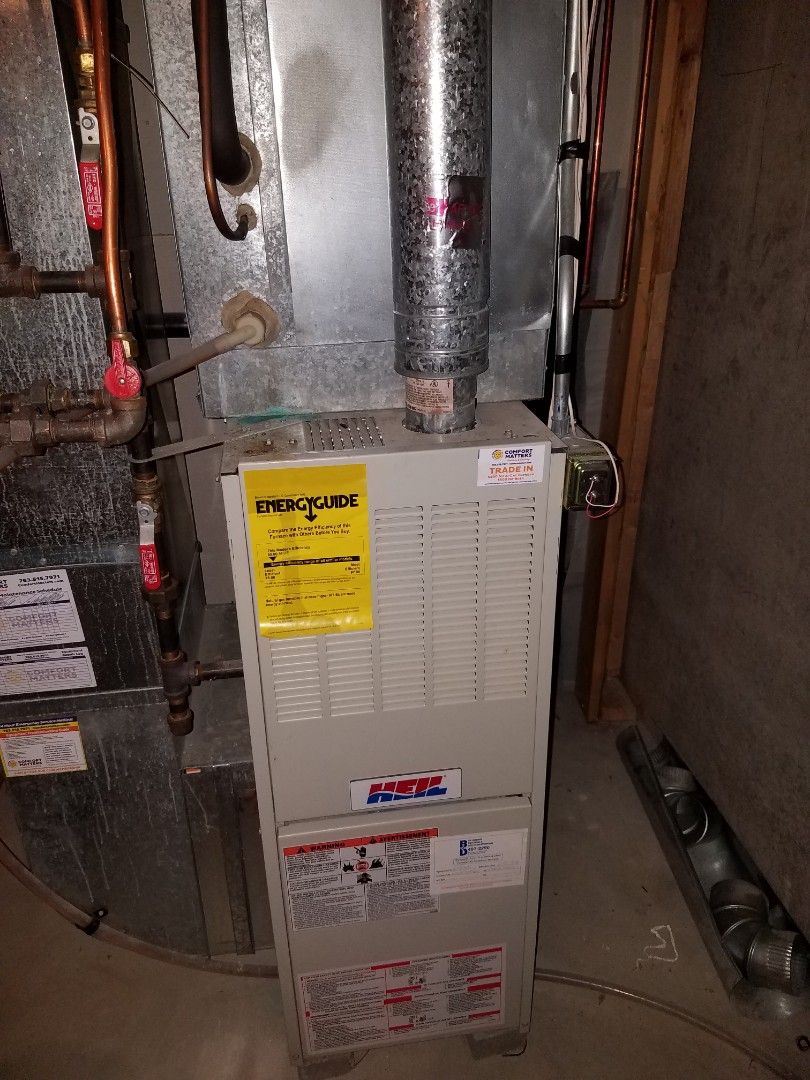Osseo, MN - Furnace tune up and clean on Heil unit in Maple Grove