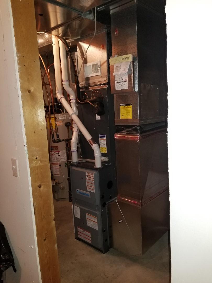 Saint Michael, MN - New system installed