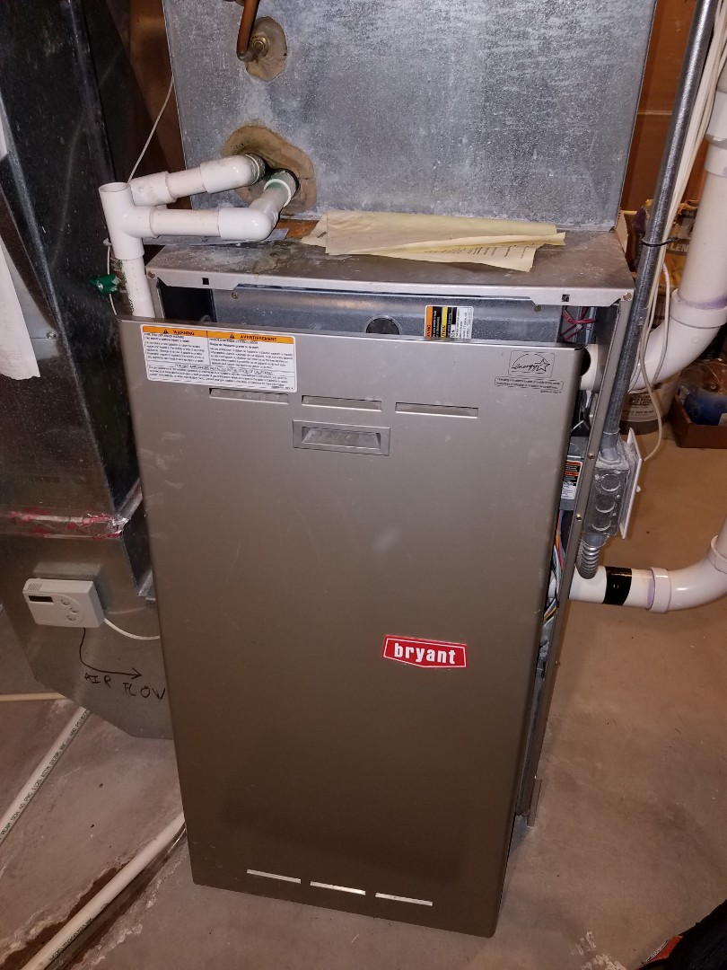 Osseo, MN - Furnace tune up and cleaning on Bryant furnace