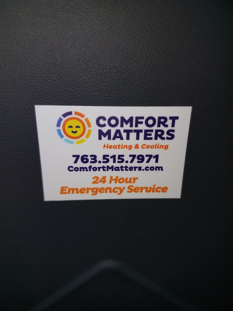 Buffalo, MN - Furnace tune up and cleaning on amana furnace