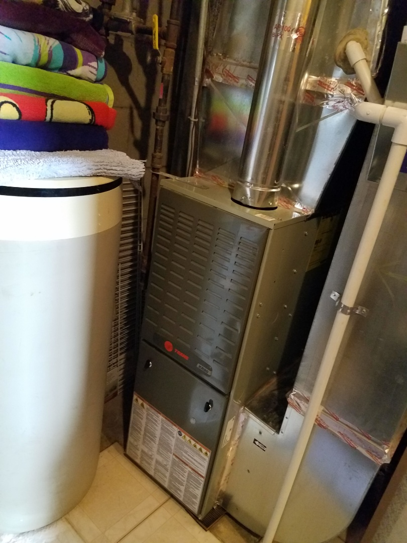 Hopkins, MN - Furnace tune up and cleaning on trane furnace