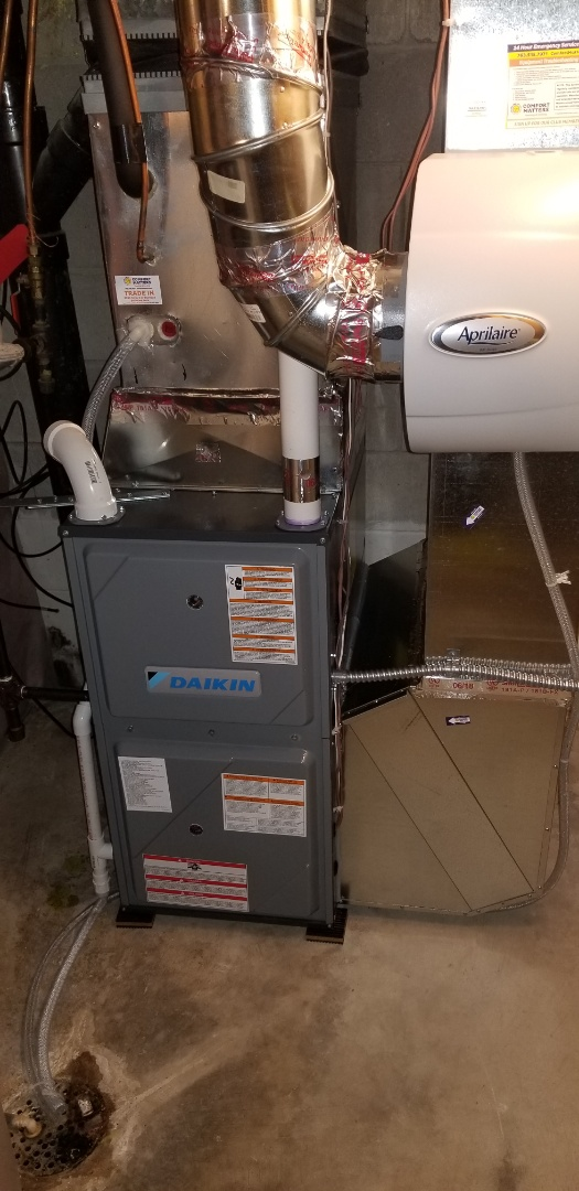 Maple Grove, MN - New furnace install