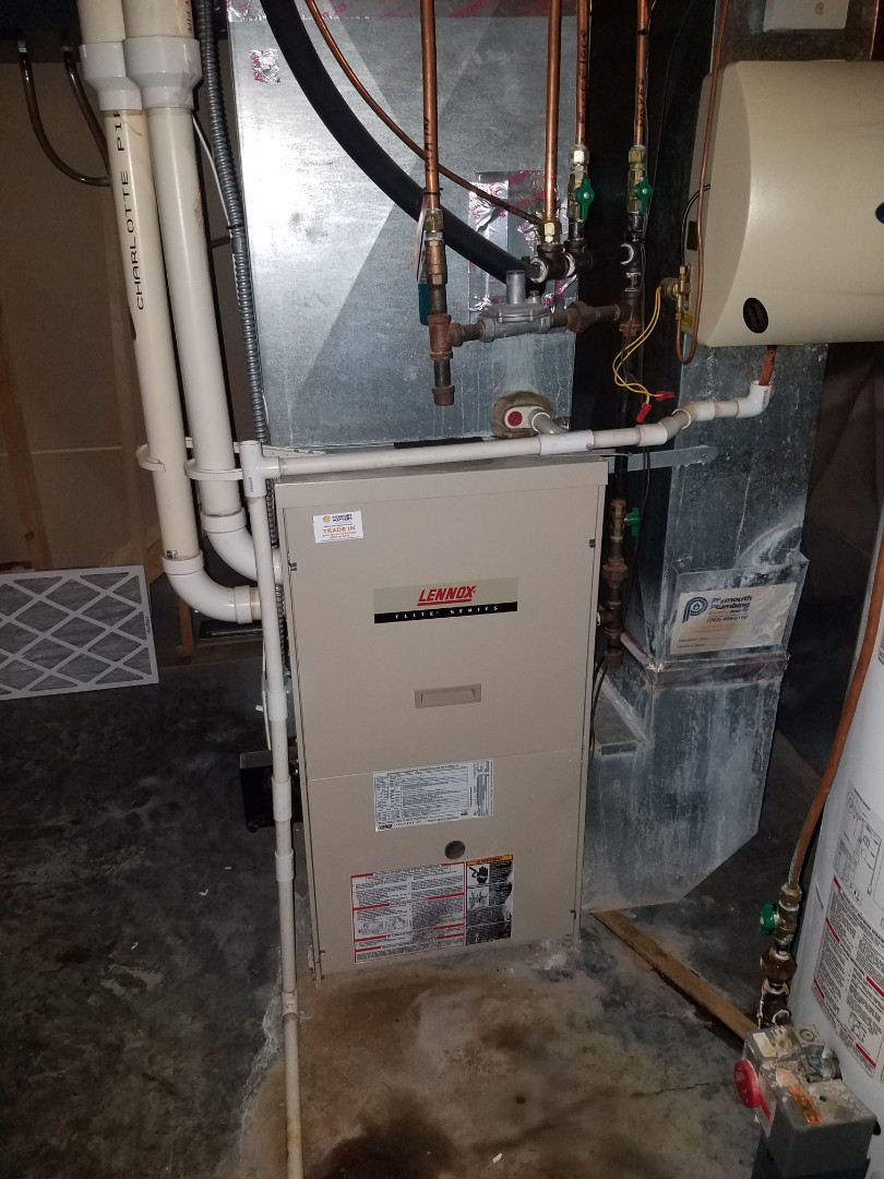 Albertville, MN - Furnace tune up and clean on Lennox unit in st. Michael