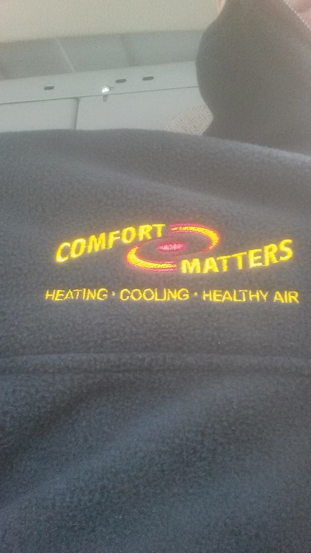 Golden Valley, MN - Heating maintenance. Performed a cleaning and tune up on a Comfort Matters furnace.
