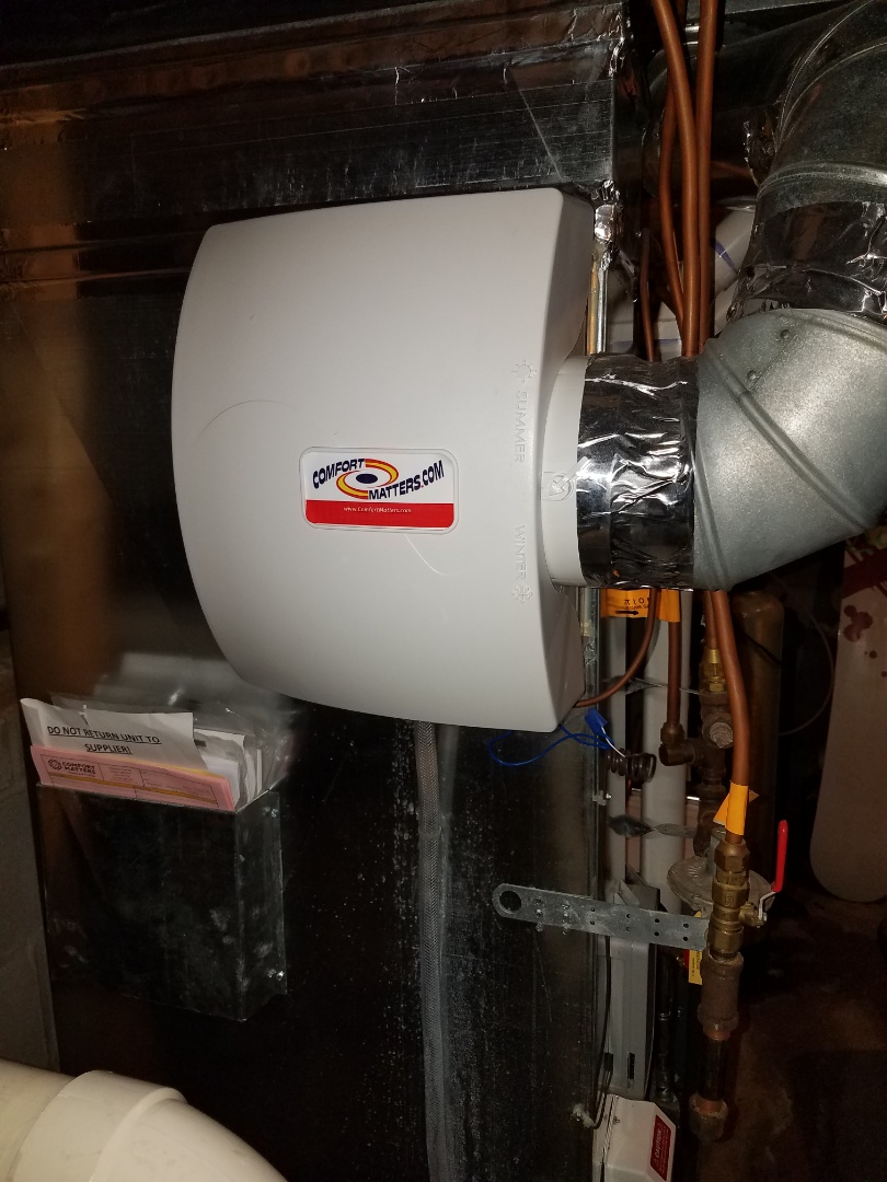 Champlin, MN - Humidifier service on comfort matters humidifier