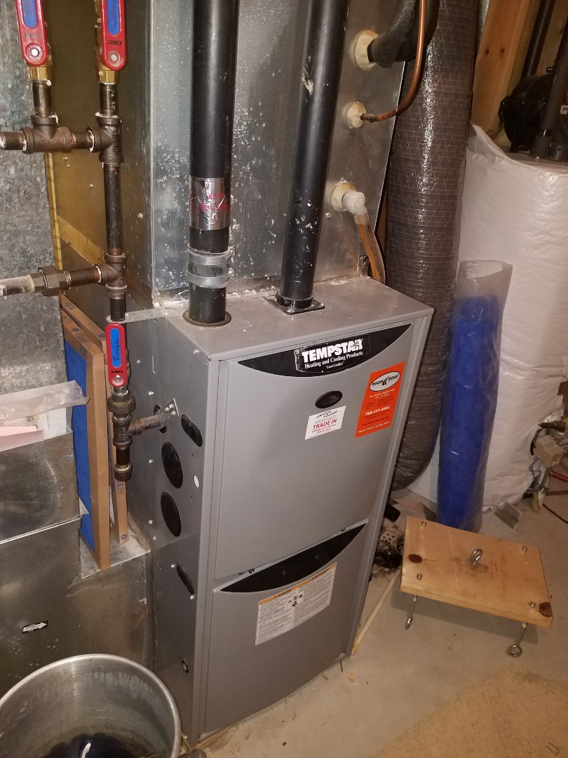 Albertville, MN - Furnace tune up and clean in Tempstar unit in Buffalo