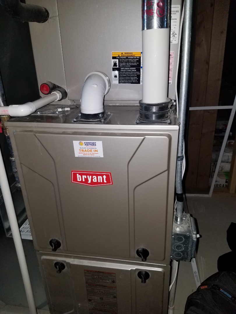 Delano, MN - Furnace tune up and clean on Bryant unit in Delano
