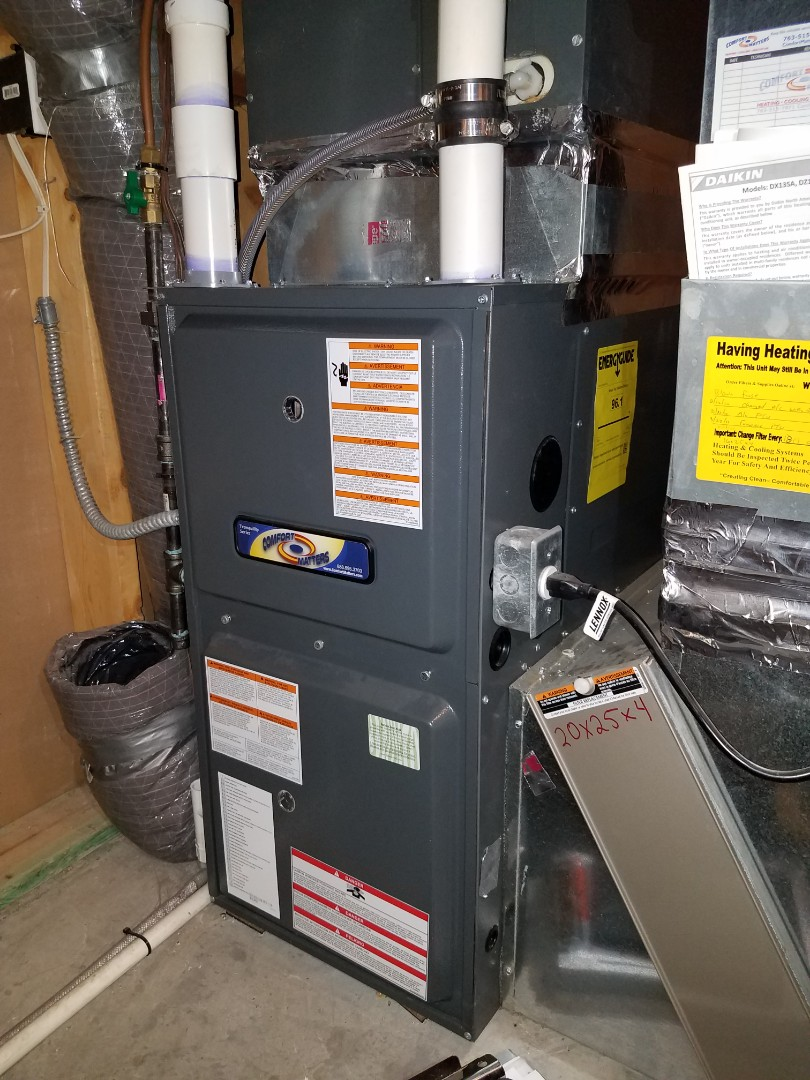 Otsego, MN - Furnace tune up and clean on Goodman unit in Otsego