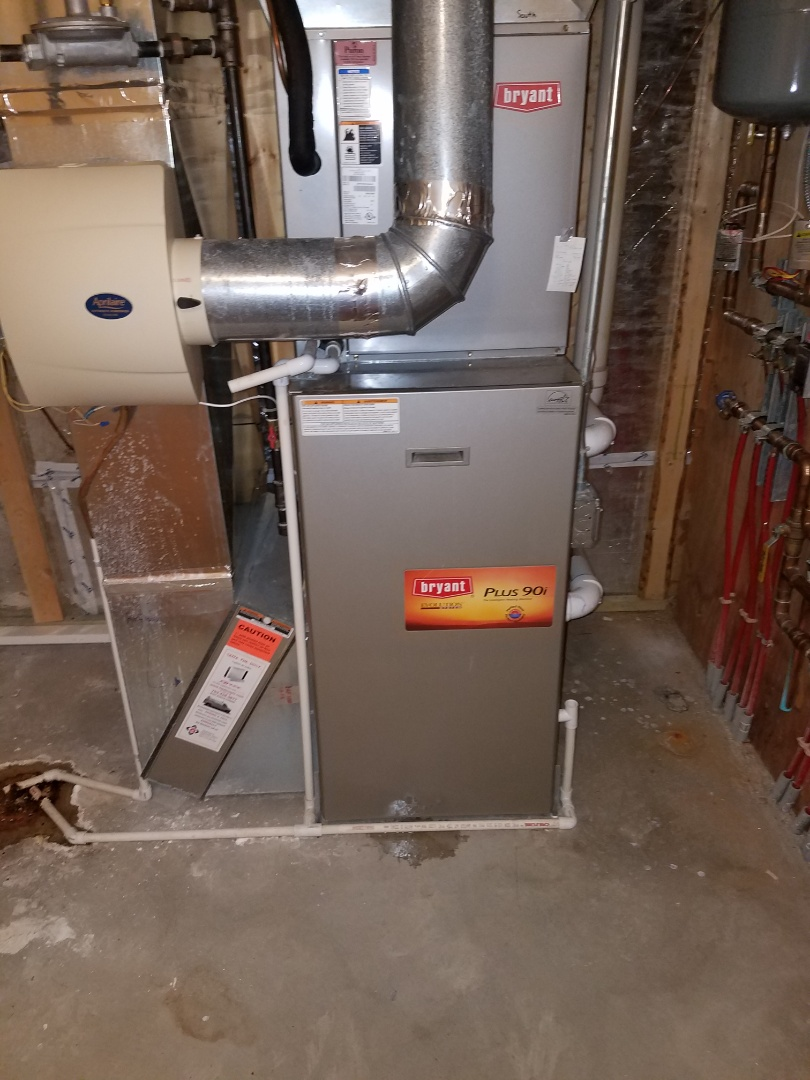 Mound, MN - Furnace tune up and cleaning on Bryant furnace