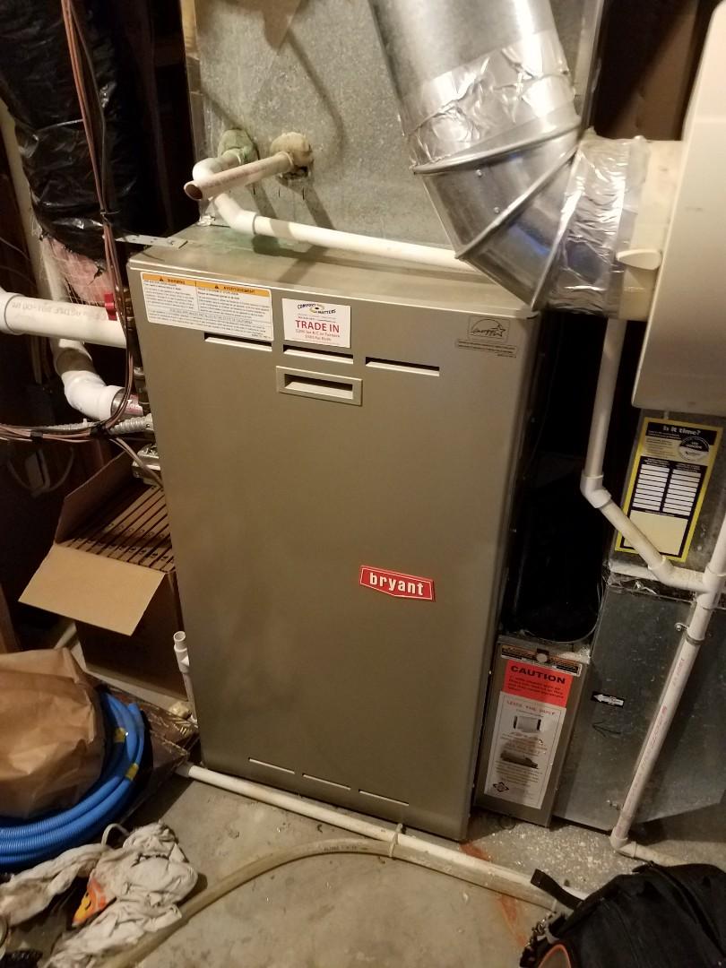 Otsego, MN - Furnace tune up and service on Payne furnace