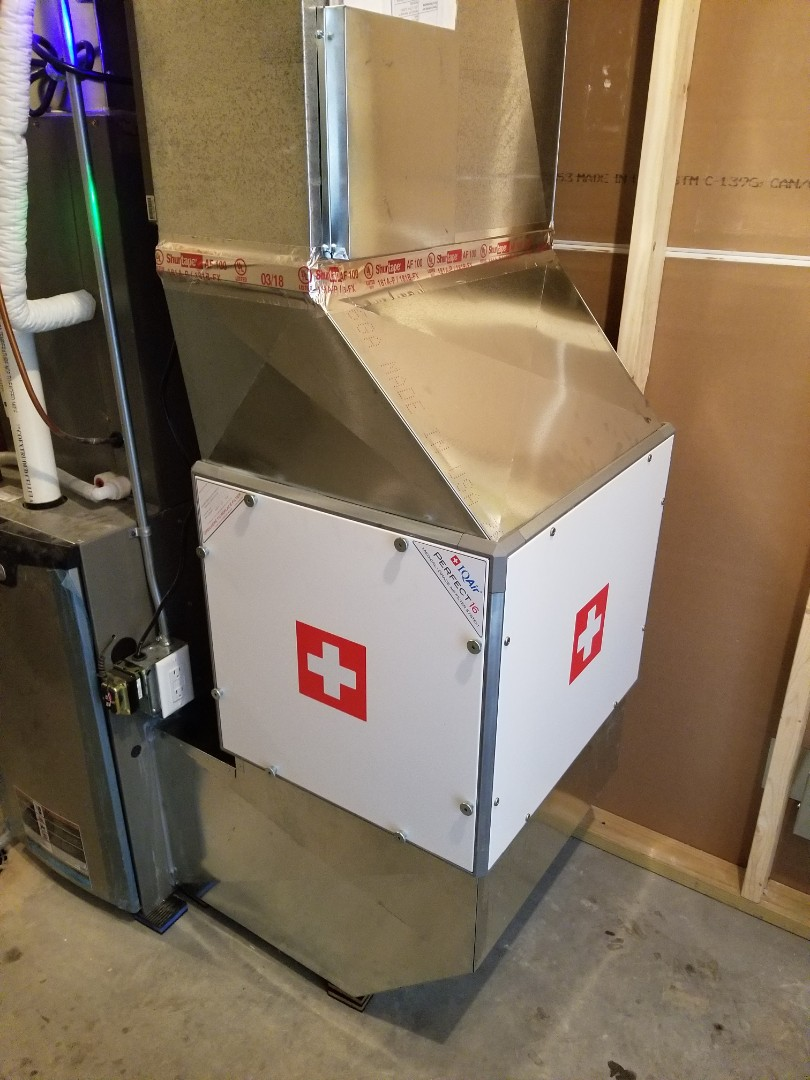 Delano, MN - Installed a IQ air filter system