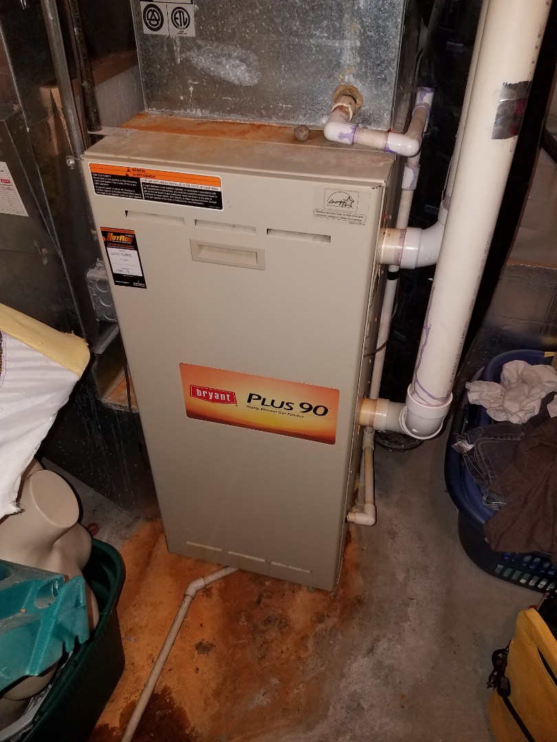 Brooklyn Park, MN - Furnace tune up and clean on Bryant unit in Elk River