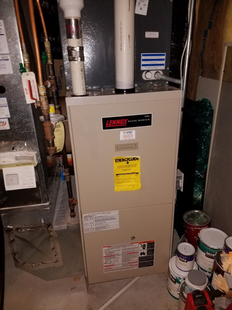 Coon Rapids, MN - Furnace tune up and cleaning on Lennox furnace
