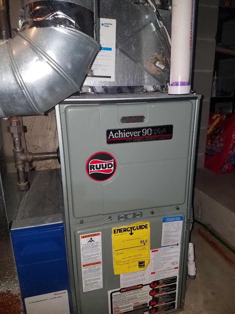 Minnetonka, MN - No heat call on ruud furnace in Brooklyn Park
