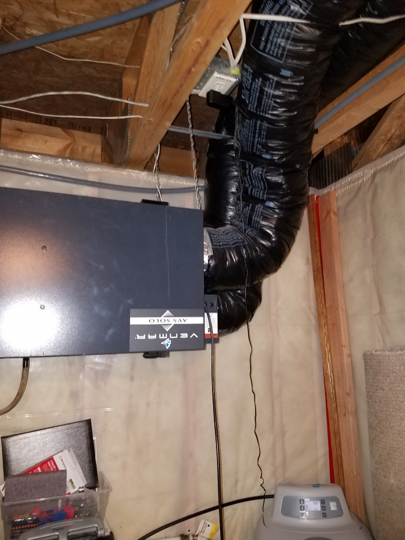 Maple Grove, MN - Replace air exchanger motor assembly on Venmar unit in Rogers