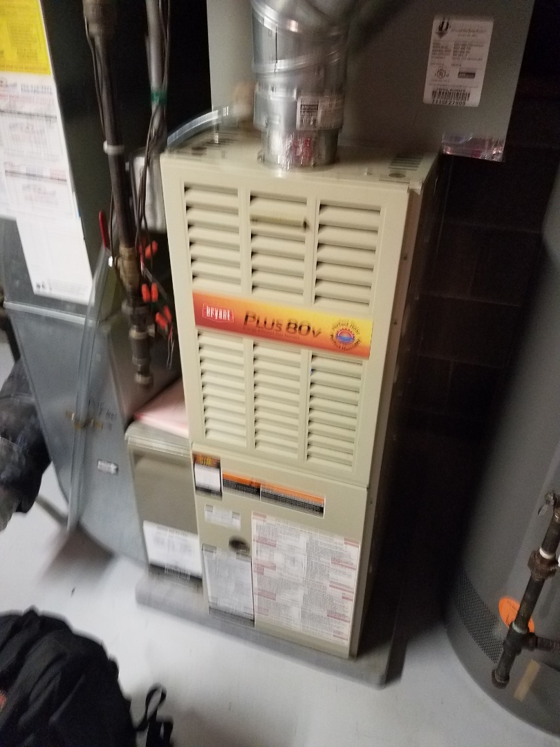 Saint Michael, MN - Furnace service on Bryant furnace