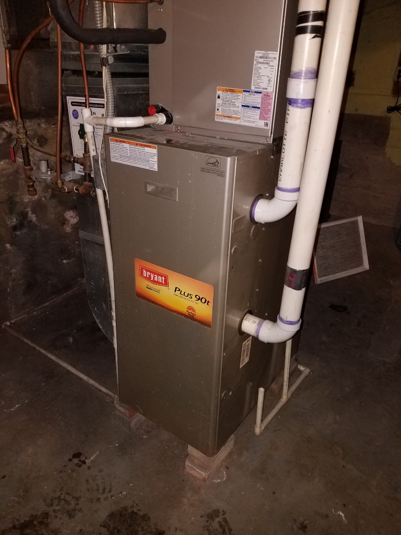 Excelsior, MN - Furnace service on Bryant furnace