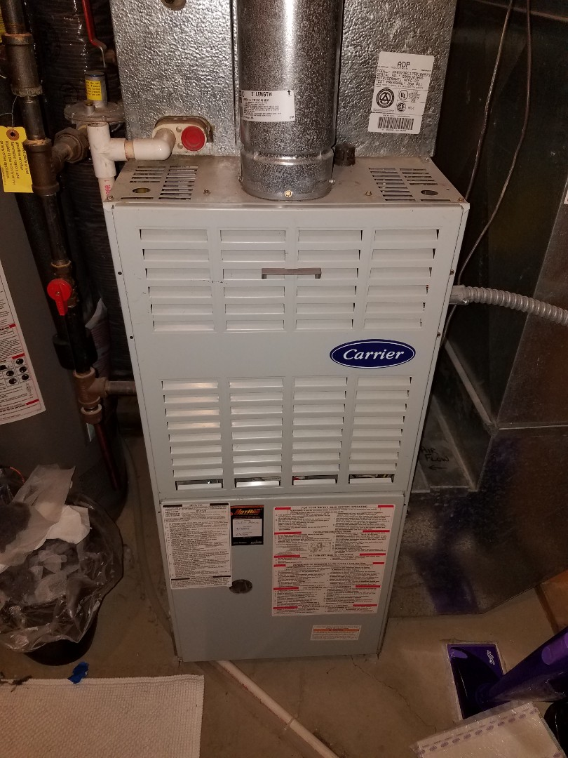 Maple Grove, MN - Ignition assembly replacement on carrier furnace