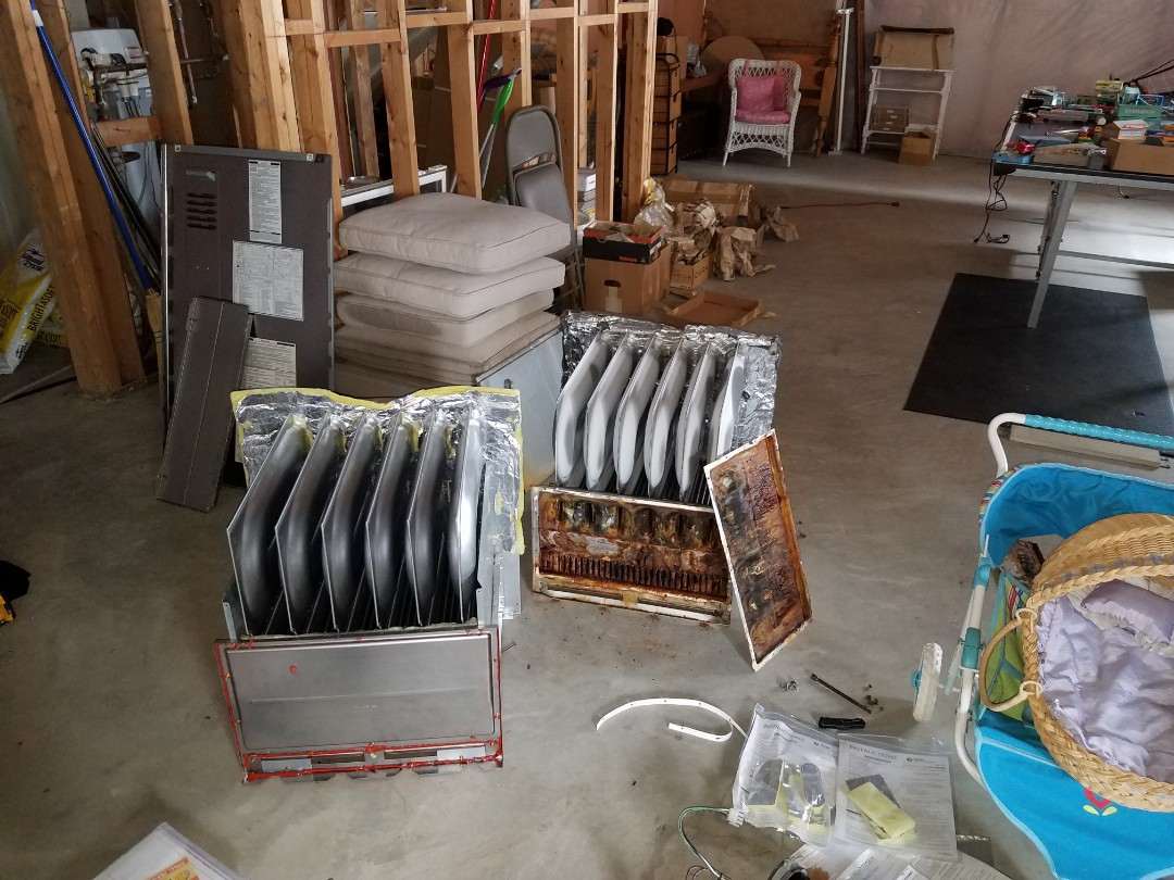 Hanover, MN - Replaced heat exchanger assembly on Carrier unit in St. Michael