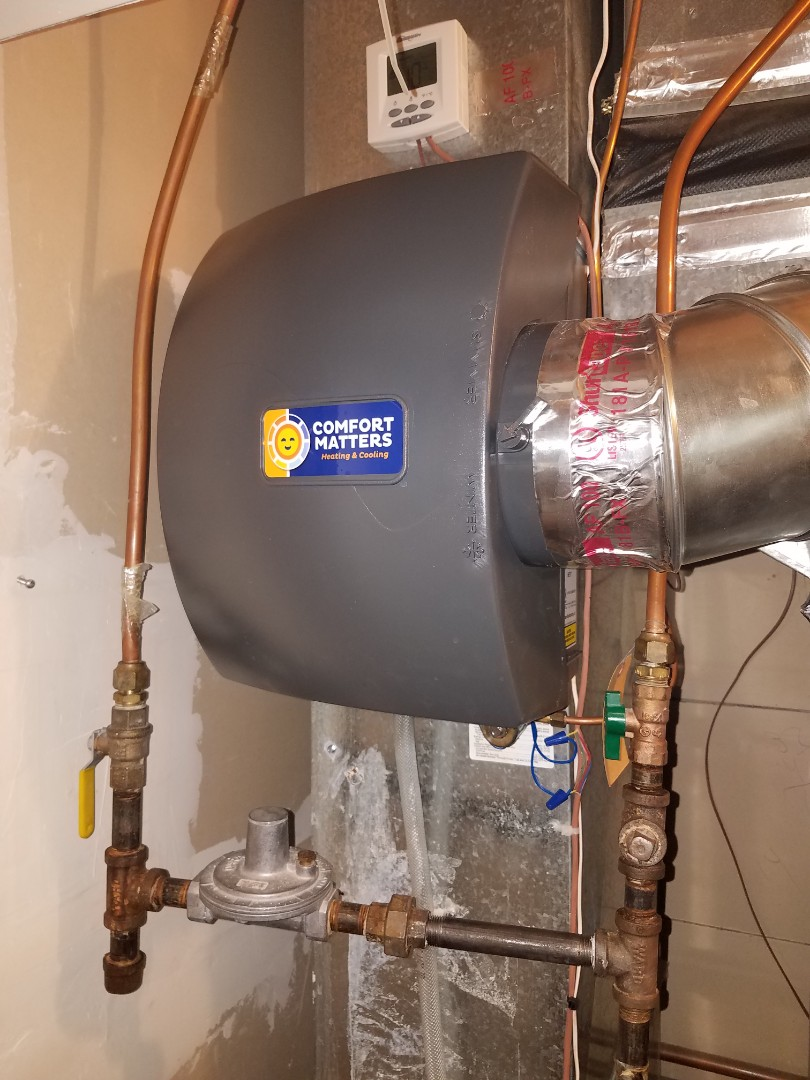 Maple Grove, MN - Humidifier service on general aire humidifier